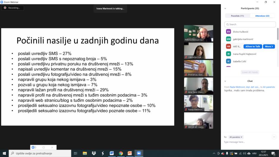 Okrugli stol na temu sigurnosti i zaštite djece na internetu u organizaciji Volonterskog centra Zadar