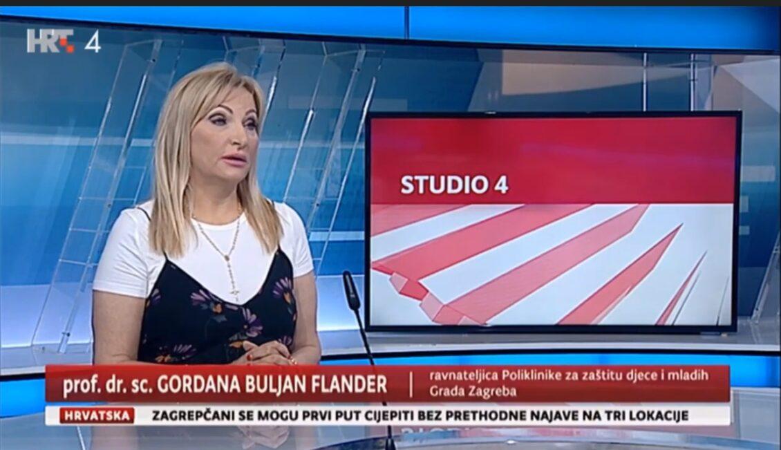 Gordana Buljan Flander u Studiju 4